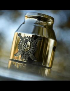 Grenade 21700 Cap Jason Machete Etched - Comp Lyfe (Brass)