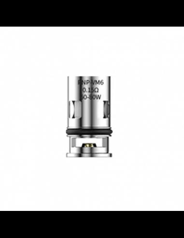Testina Coil di Ricambio PnP-VM6 mesh coil 0.15 ohm - Voopoo (5pz)