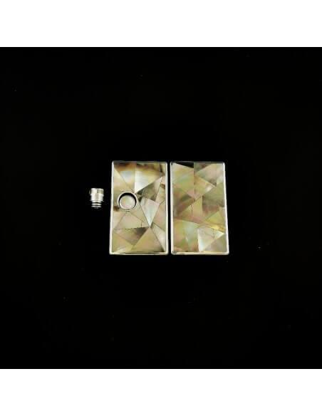 Set 579 Pannelli tip e tasto per Billet Box - Earn (Black Pearl)
