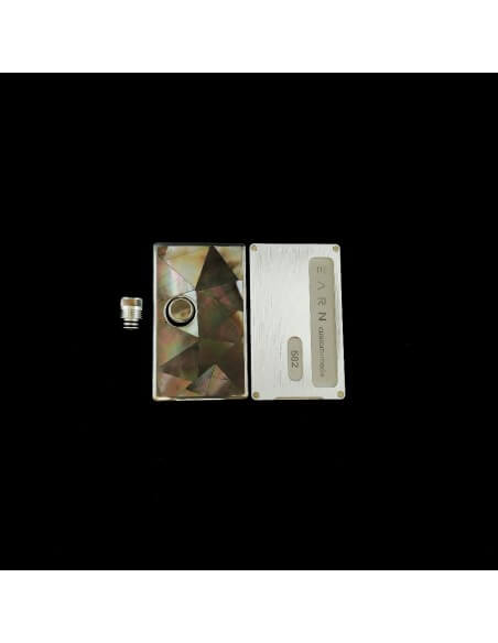 Set 582 Pannelli tip e tasto per Billet Box - Earn (Black Pearl)