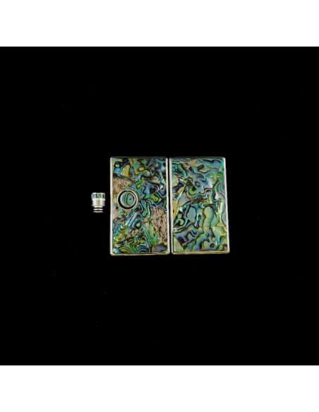 Set 580 Pannelli tip e tasto per Billet Box - Earn (Abalone)