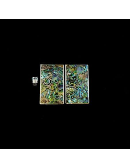 Set 583 Pannelli tip e tasto per Billet Box - Earn (Abalone)