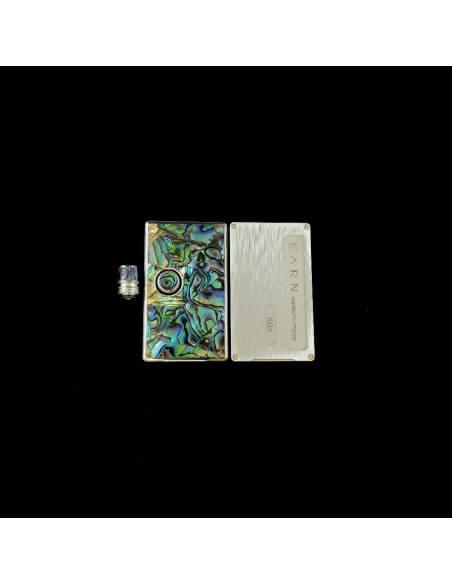 Set 584 Pannelli tip e tasto per Billet Box - Earn (Abalone)