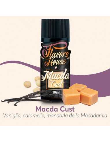 Macda Cust aroma concentrato 10ml - Eliquid France