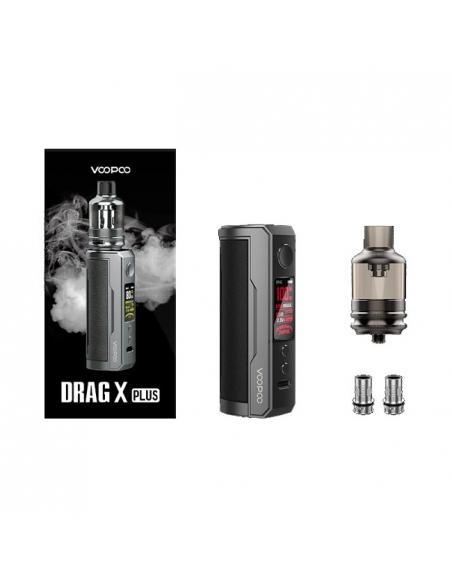 Drag X Plus Kit - Voopoo (Smoky Grey)
