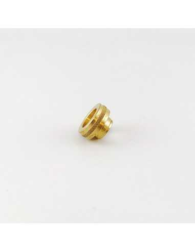 Drip Tip 810 Normal profile knurled - WMS (brass)