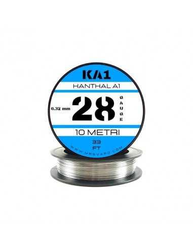 Filo Kanthal A1 0,32 mm - 28 AWG (10 metri)
