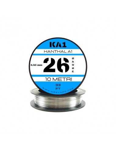 Filo Kanthal A1 0,40 mm - 26 AWG (10 metri)