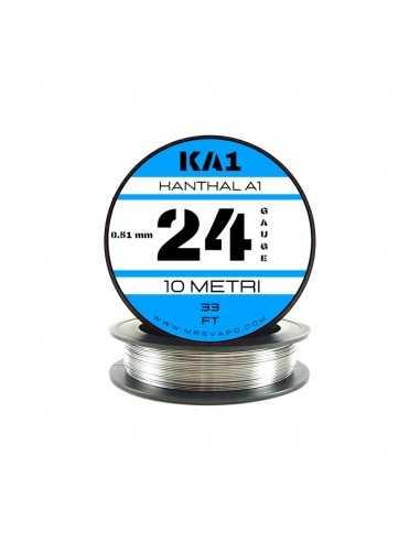 Filo Kanthal A1 0,51 mm - 24 AWG (10 metri)