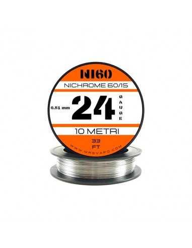 Filo Ni60 0,51 mm - 24 AWG (10 metri)