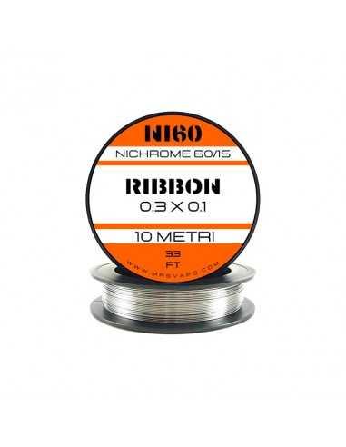Filo NI60 0.3 x 0.1 mm - RIBBON (10 metri)