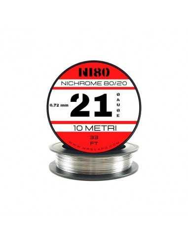 Filo Ni80 0,72 mm - 21 AWG (10 metri)