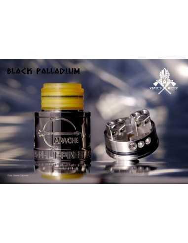 Apache RDA 24mm x Vaper's Mood - MCV (Black Palladium)