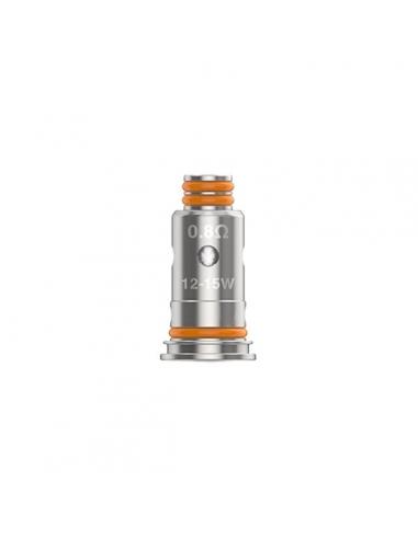 Testina coil di Ricambio G Coil 0,8 Ohm - Geek Vape (5Pz)