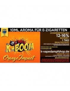 ORANGE IMPACT Aroma K-Boom